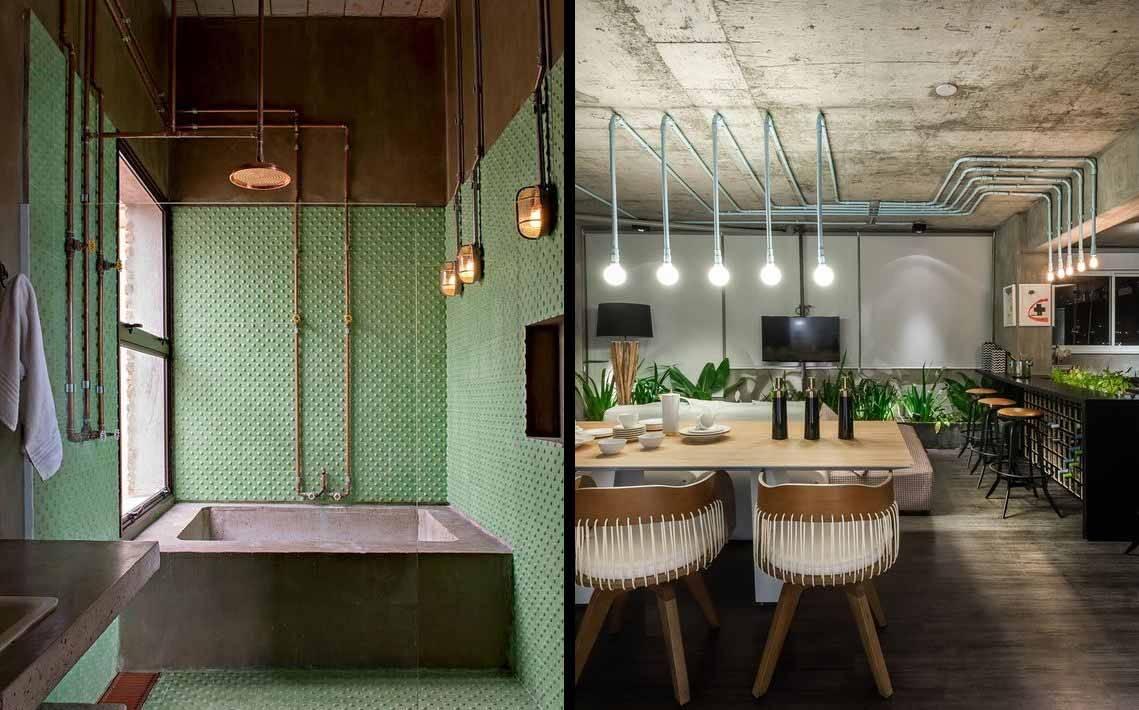 Decoração industrial: arquiteta ensina a aplicar o estilo em 7 passos. Foto: reprodução / Archinside
