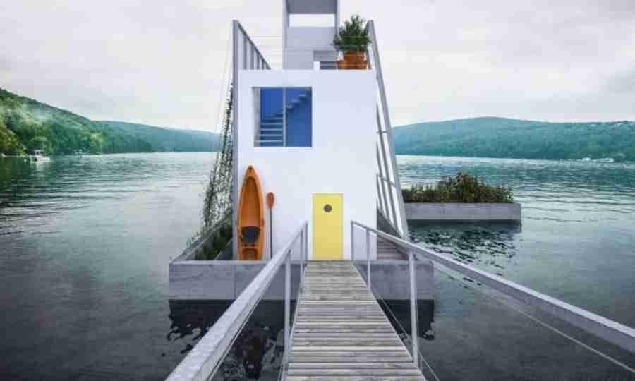 As novas casas móveis do mundo moderno