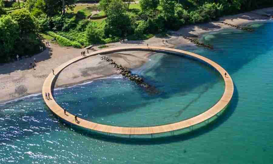 Você precisa conhecer esta ponte sem fim
