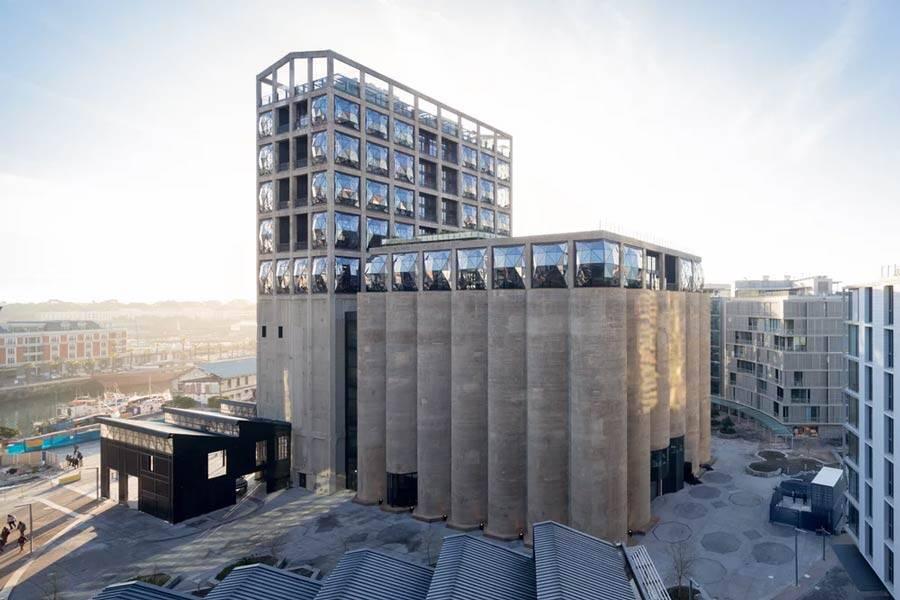 Zeitz MOCAA, na categoria Novos e antigos - edifícios concluídos