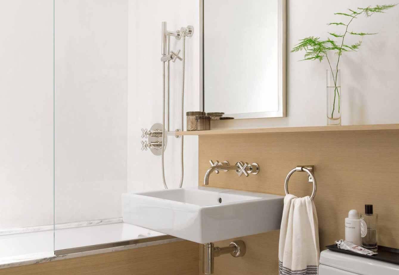 11 truques de decoração para aumentar o banheiro sem gastar muito. Foto: Divulgação