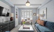 Papel de parede na sala: 20 ideias para mudar sua decoração. Foto: Reprodução