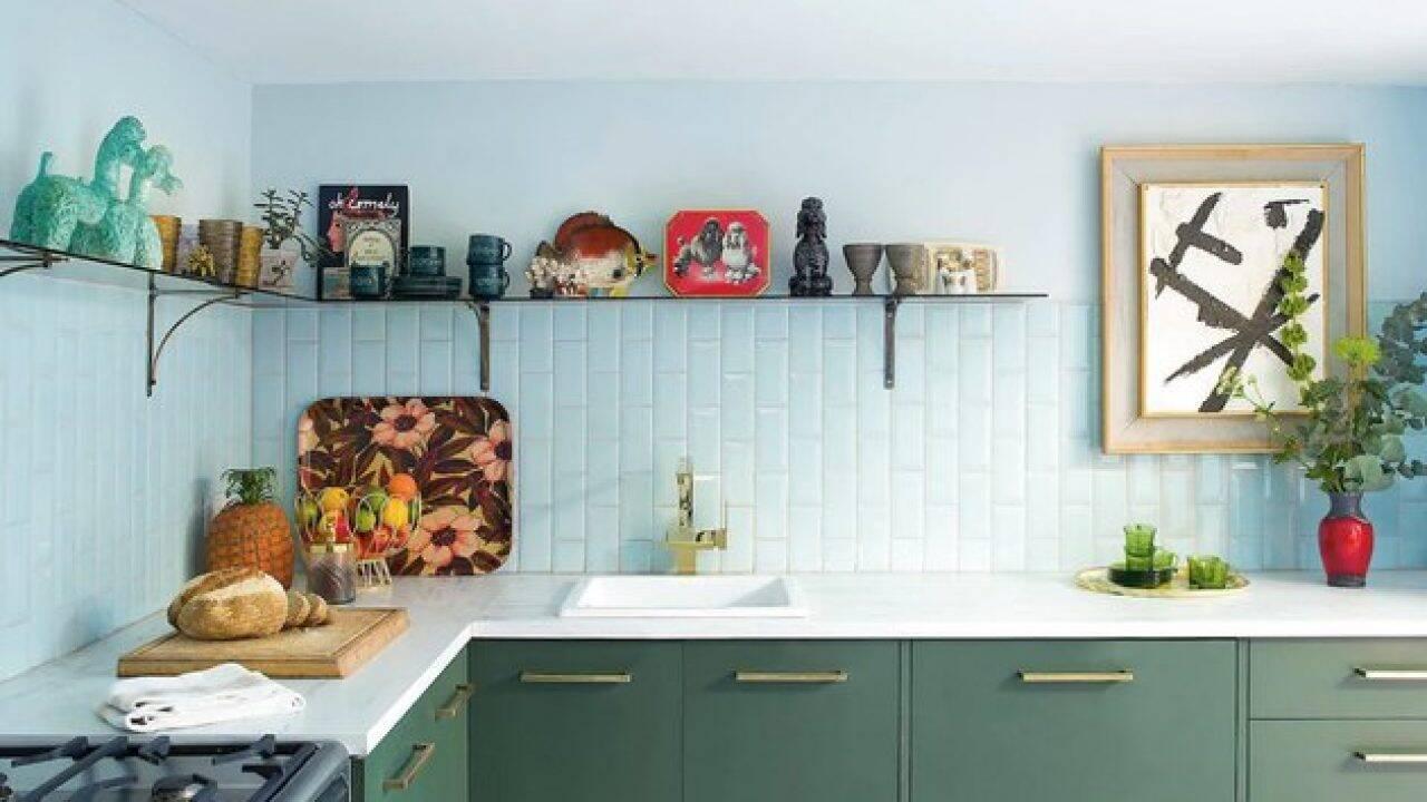 Image of: Cozinha Branca Nao 6 Cores Tendencia Em 2020 Para Armario De Cozinha