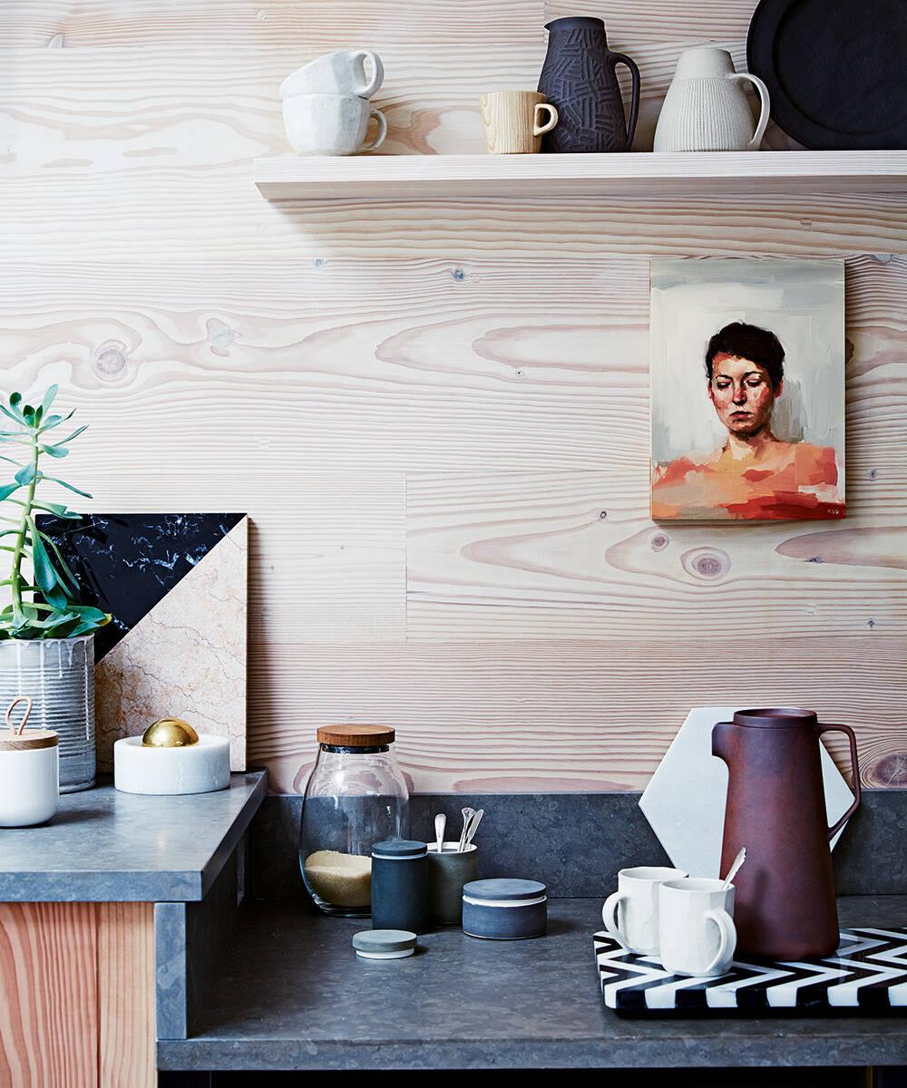Granito, tendência de design de interiores