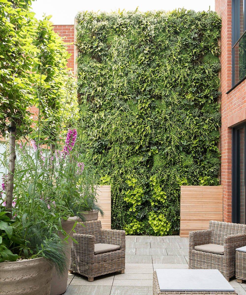 Jardim vertical, tendência de design de interiores