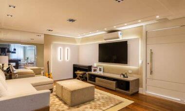 Dicas de iluminação para sala de TV