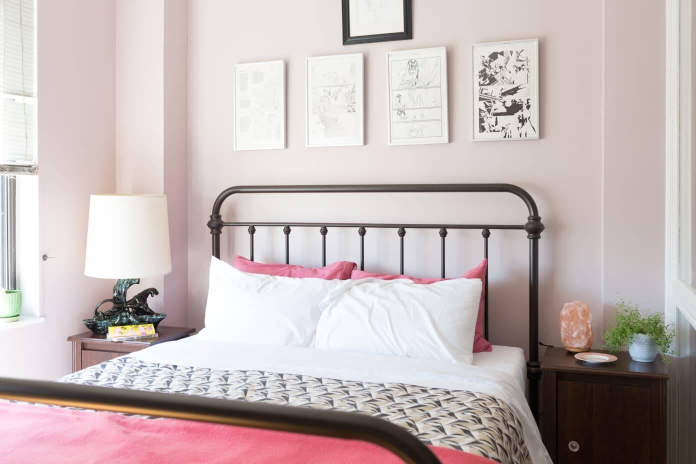 15 ideias para um quarto rosa moderno e sofisticado