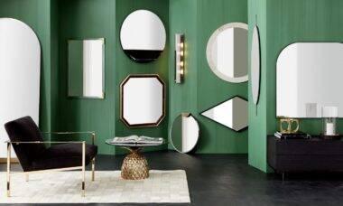 Tendências em espelhos decorativos para paredes cheias de estilo