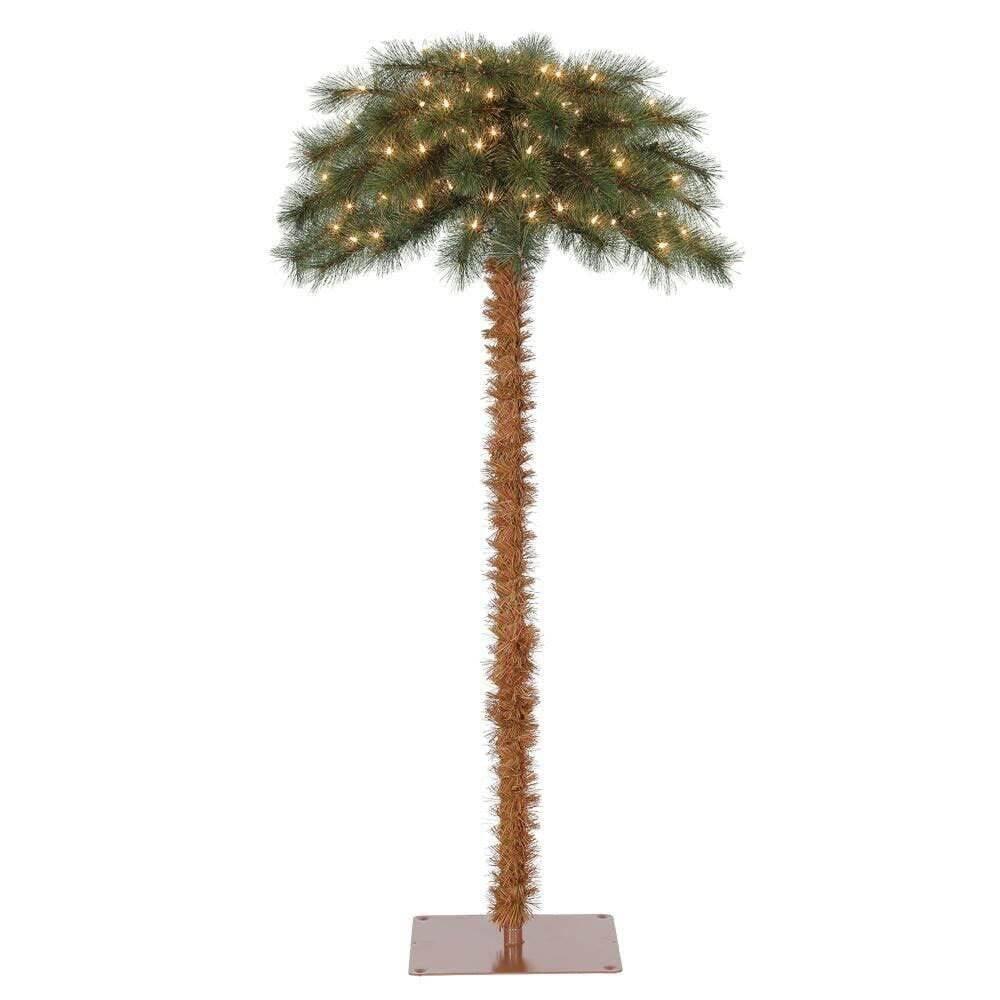 Inventaram uma decoração natalina que finalmente tem a ver com o Brasil: o coqueiro de Natal