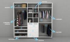 Como planejar um closet funcional e deixar suas roupas mais organizadas