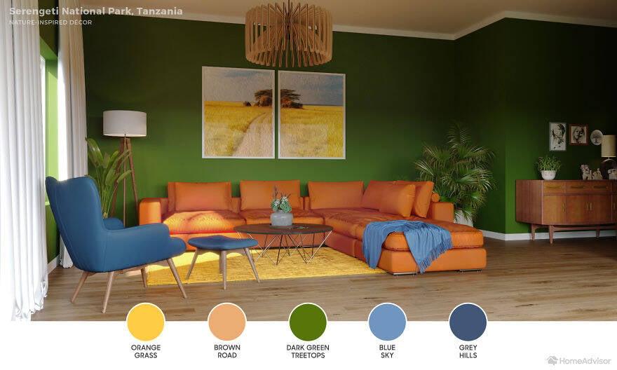 Salas de estar: 6 designs inspirados nas paisagens mais deslumbrantes do mundo