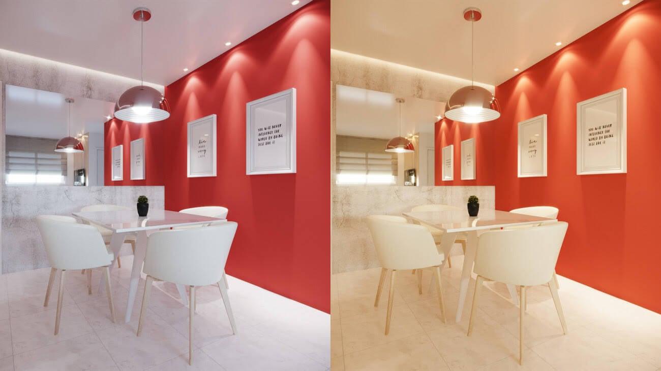 Saiba como harmonizar cores e iluminação na decoração