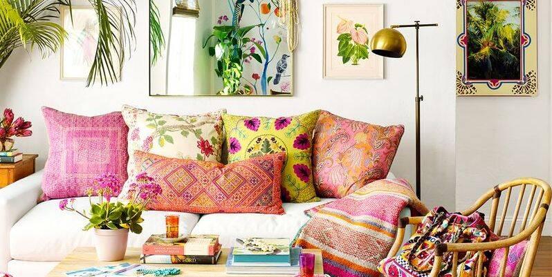 8 inspirações para decoração de sala de estar no estilo Boho Chic