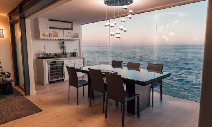 Qual o melhor piso para uma sala de jantar?