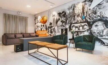 Grafite na decoração: todas dicas que você precisa saber para incluir essa arte em casa. Foto: reprodução
