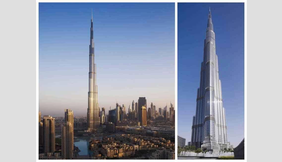Edifício mais alto do mundo: entenda o projeto do Burj Khalifa e como ele é dividido. Imagens: Architect Magazine
