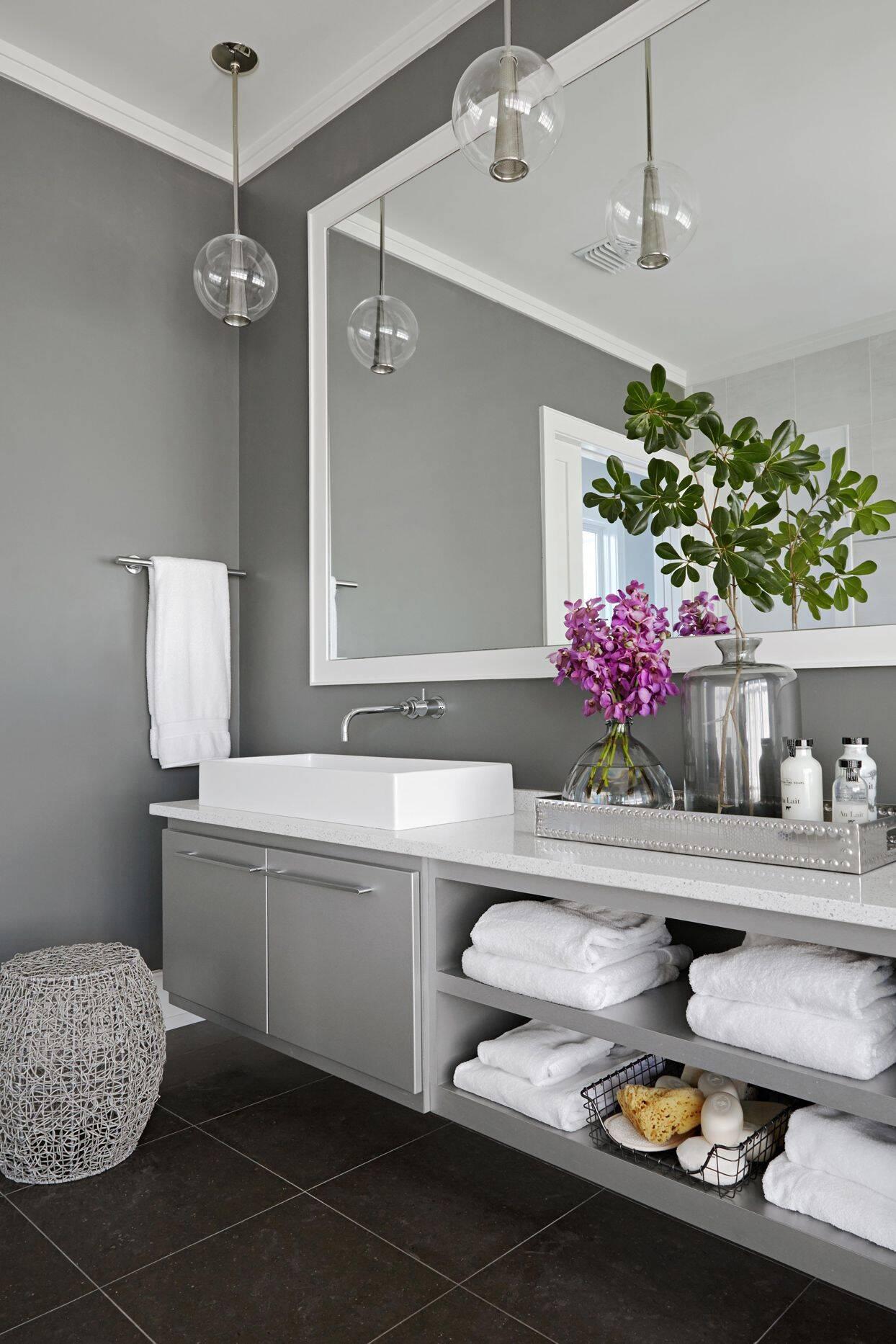 Banheiro minimalista