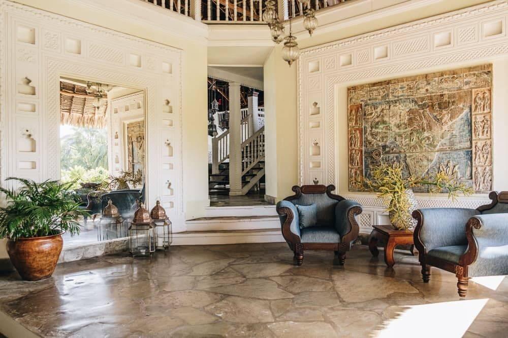 Sala da mansão