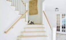 Decoração de escada
