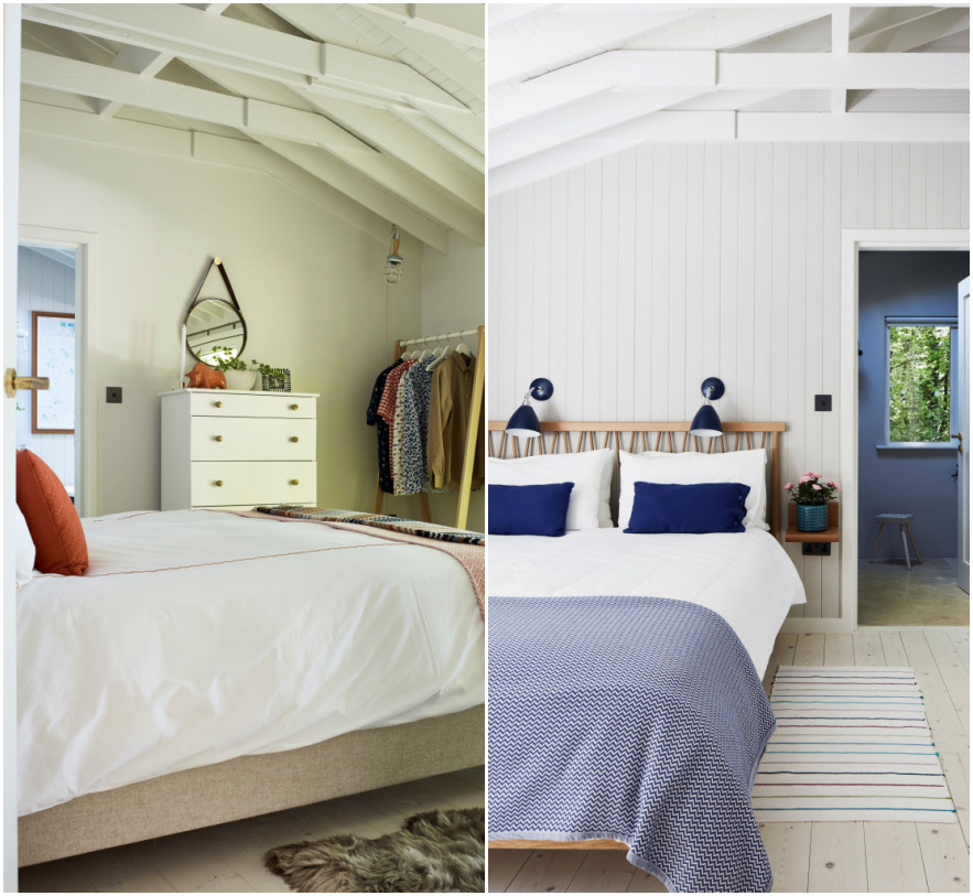 Antes e depois: quartos