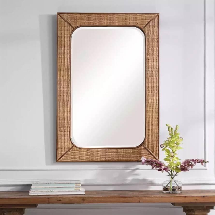 Espelho Rattan