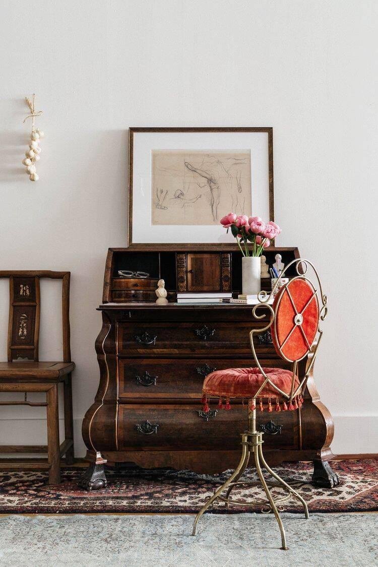 Home office: móveis antigos