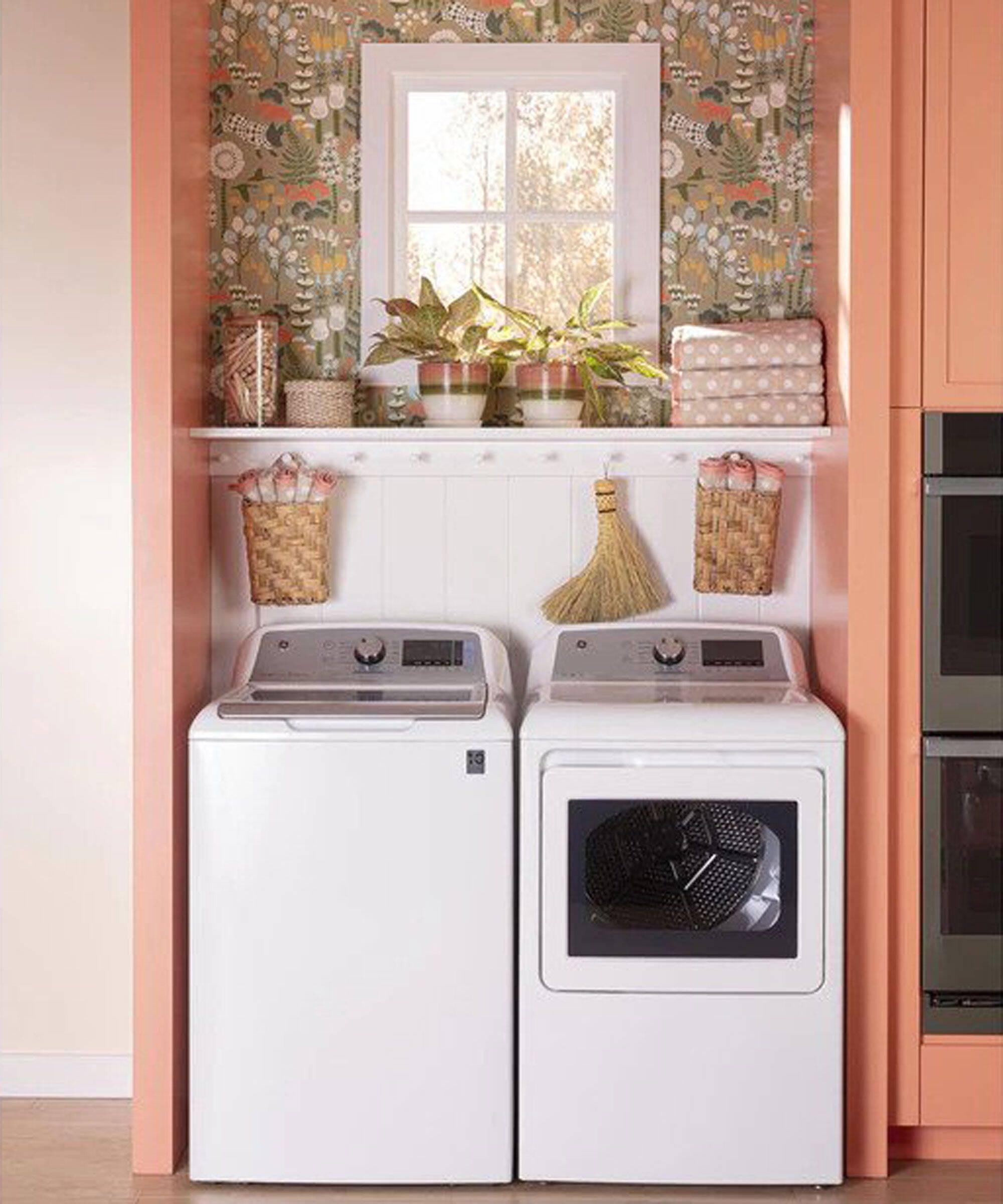Lavanderia pequena: cozinha