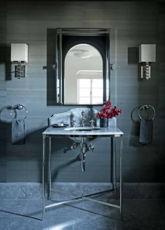 Dicas de decoração para banheiro: aposte no contraste