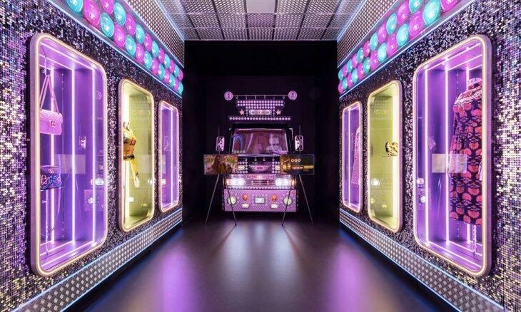 Exposição em comemoração aos 100 anos da Gucci. Fotos: Divulgação/Gucci
