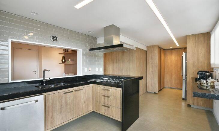 Planejamento da cozinha. Projeto Studio Mac/ Foto:Sidney Doll