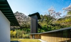 Museu de bambu. Fotografia:Kawasumi