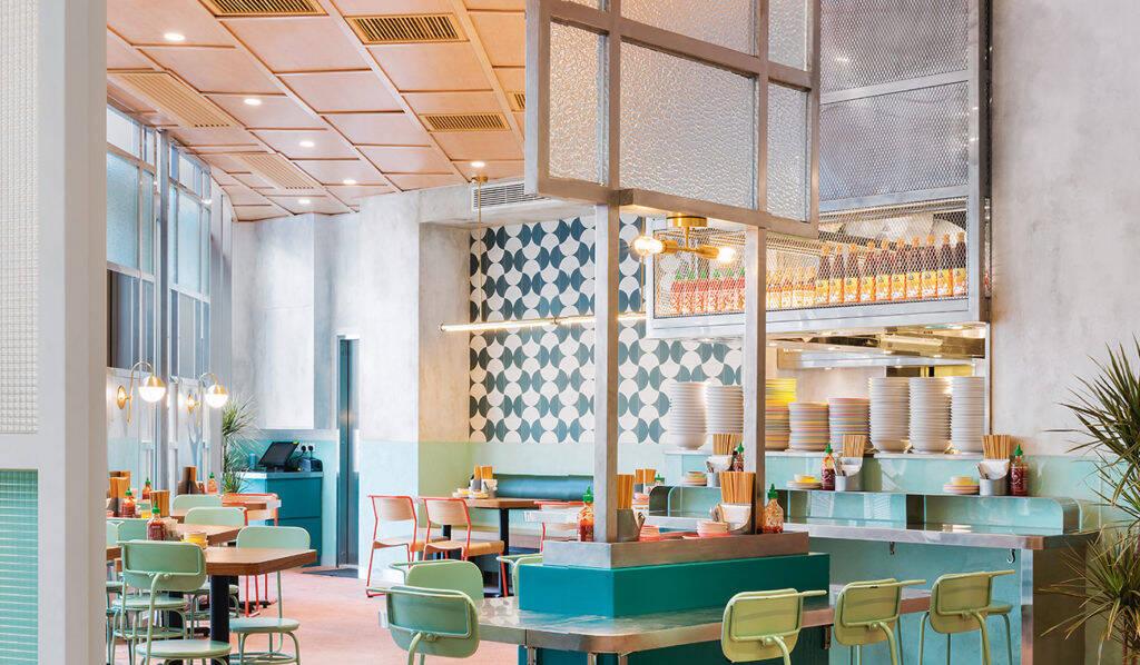 Nha Trang Vietnamese Canteen de JJ Acuna / Bespoke Studio em Hong Kong. Foto: James John Jetel, Divulgação de JJ Acuna / Bespoke Studio