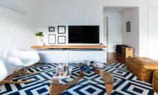Tapetes. Projeto Liv'n Arquitetura | Foto: Guilherme Pucci
