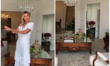Casa de Iris Stefanelli. Imagens: Reprodução/Instagram