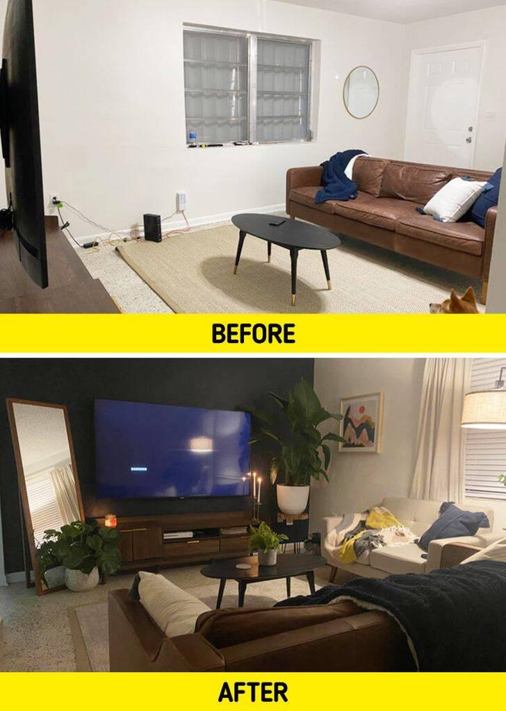 Transformação de sala