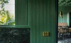 Café Elgin, no Punjab, Índia tem tons de esmeralda. Fotos:Niveditaa Gupta