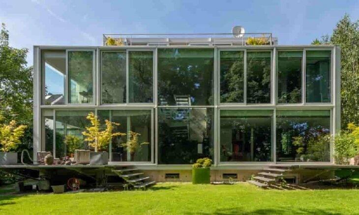 Casa 'caixa de luz', na Alemanha. Fotos: Jonas Berg/ Baden-Württemberg Sotheby's International Realty