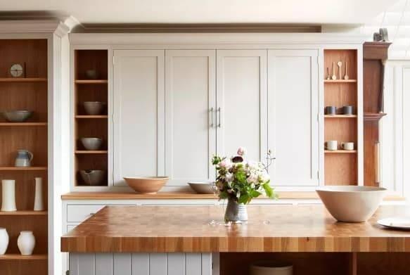 Cozinhas de madeira. Crédito: Naked Kitchens