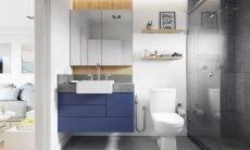 Definir uma área molhada prática e funcional possibilita um banho relaxante | Foto: Divulgação/Celite