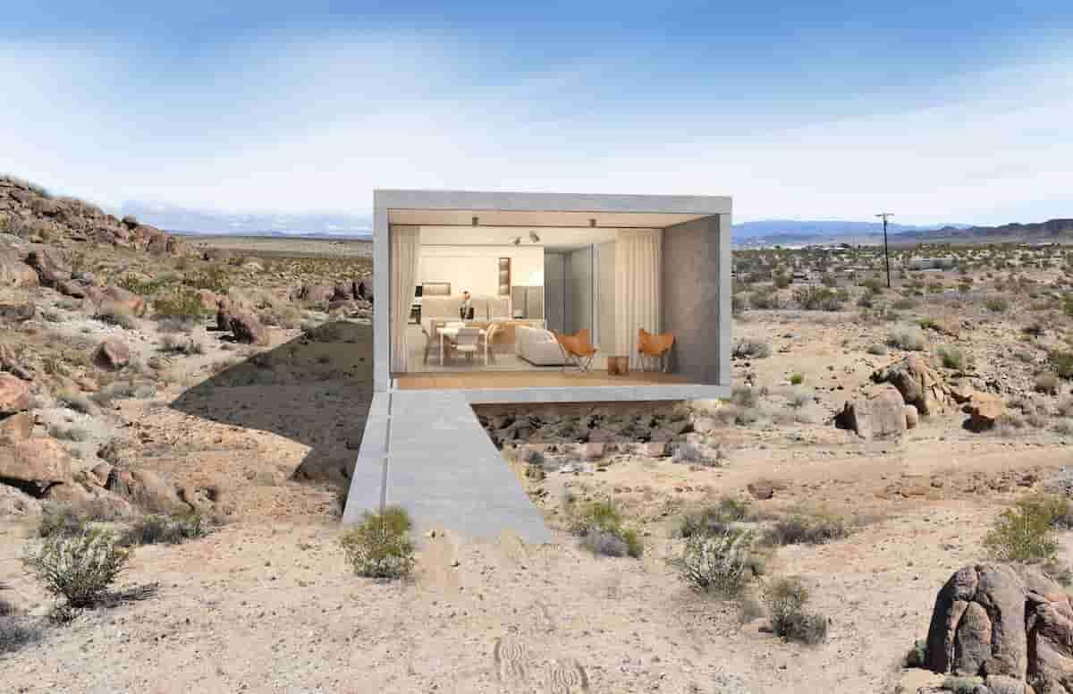 Casa no deserto da Califórnia. Fotos: Divulgação/KUD Properties