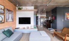 Para Júlia Guadix, a utilização de elementos decorativos de forma correta e equilibrada contribuem para a atmosfera de uma residência moderna e estilosa |Foto: Guilherme Pucci